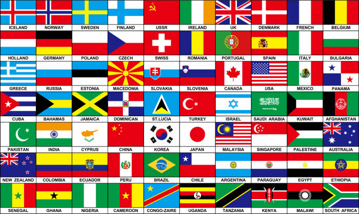 70 countries