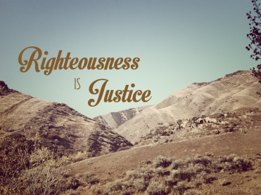 justice-and-righteousness
