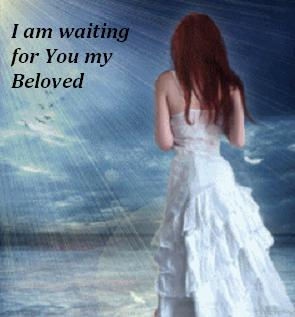 His Waiting Bride: Bride of Christ waiting for her Messiah
